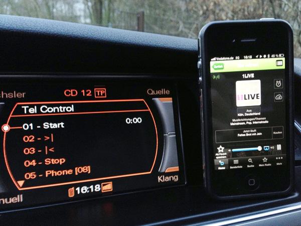 für VW Audi Mikrofon MMi 3G SDS Sprachbedienung Sprachsteuerung inkl RNS-E